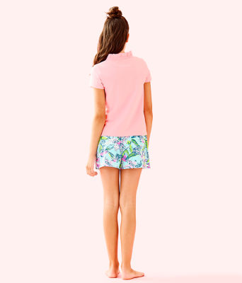 Girls Thierry Polo, Coral Reef Tint, large 1