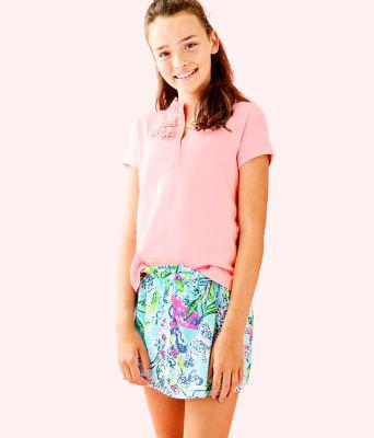Girls Karla Skort, Bali Blue Sway This Way, large 0
