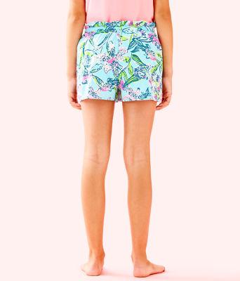 Girls Karla Skort, Bali Blue Sway This Way, large 1