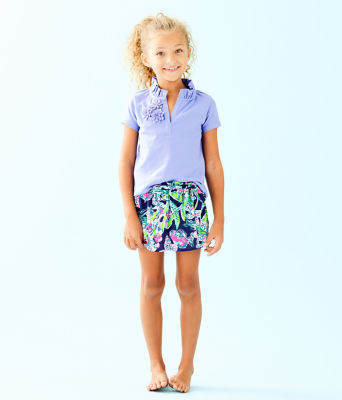 Girls Karla Skort, Bright Navy Sway This Way, large