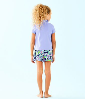 Girls Karla Skort, Bright Navy Sway This Way, large 1