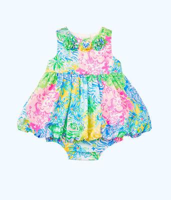 Baby Britta Bubble Dress, Multi Cheek To Cheek, large