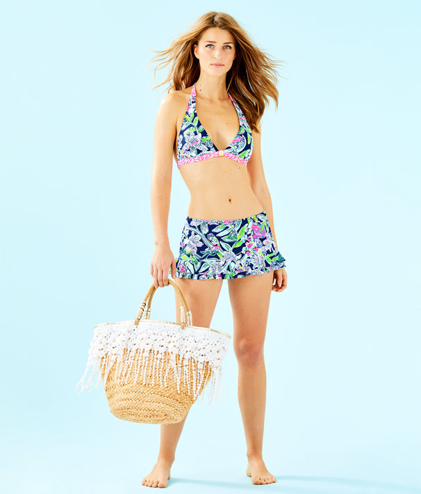 Noa Triangle Bikini Top, Deep Sea Navy Sway This Way Swim, large