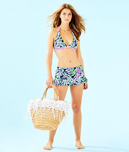 Noa Triangle Bikini Top, Deep Sea Navy Sway This Way Swim, large 2