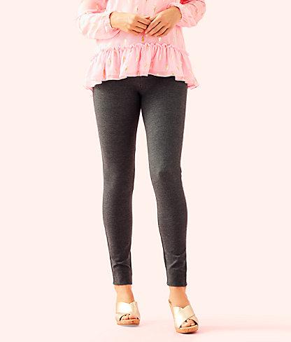 "27"" Nira Legging, Heathered Nighttime Grey, large"