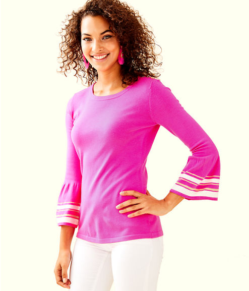 Callee Sweater, Bougainvillea Pink, large