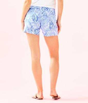 "5"" Callahan Knit Short, Blue Peri Turtley Awesome, large 1"