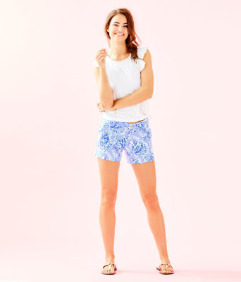 "5"" Callahan Knit Short, Blue Peri Turtley Awesome, large 3"