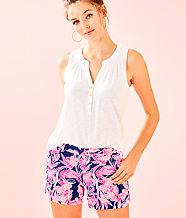 """5"""" Callahan Knit Short, Inky Navy Flamingle, large"""