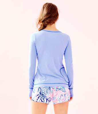 UPF 50+ Luxletic Meryl Nylon Renay Sunguard, Blue Peri, large