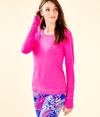 UPF 50+ Luxletic Meryl Nylon Renay Sunguard, Bougainvillea Pink, large 0