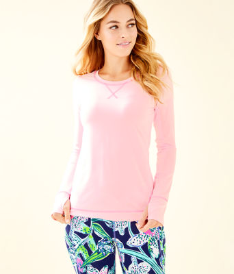 UPF 50+ Luxletic Meryl Nylon Renay Sunguard, Coral Reef Tint, large