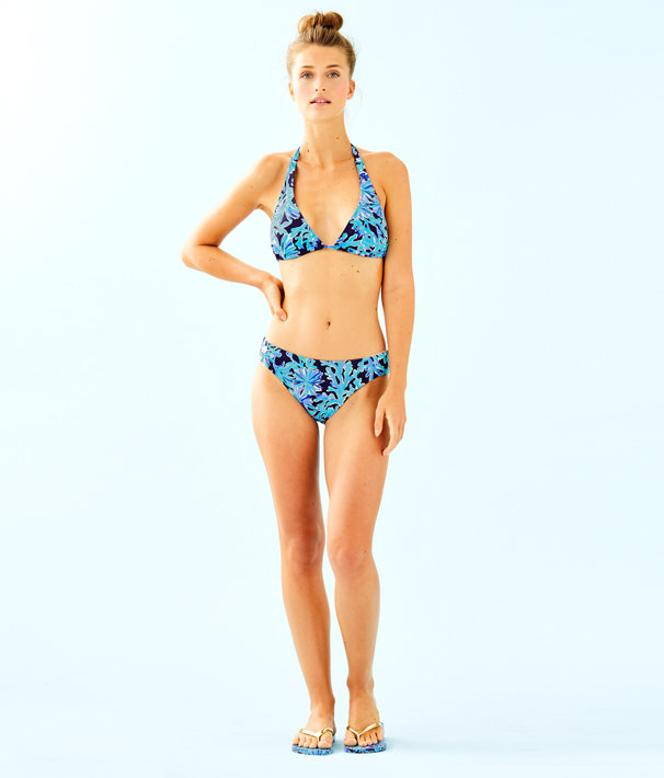 Blossom Bikini Bottom, Bright Navy In Too Deep, large