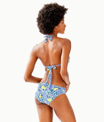 Blossom Bikini Bottom, Resort White Zest For Life Swim, large 1