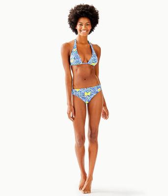 Blossom Bikini Bottom, Resort White Zest For Life Swim, large 2