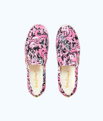 Julie Sneaker, Hibiscus Pink Hangin With My Boo Accessories Small, large