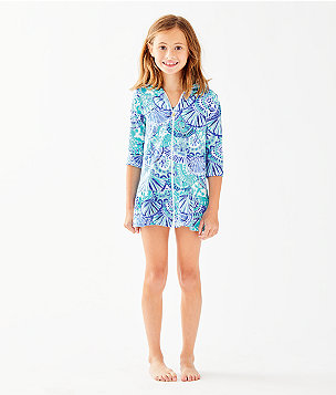 UPF 50+ Girls Cooke Cover Up, , large