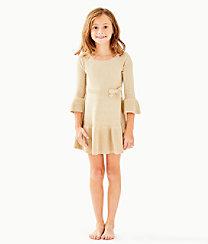 Girls Amara Sweater Dress, , large