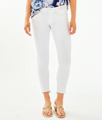 """28"""" South Ocean Skinny Jean - Crop, Resort White, large"""