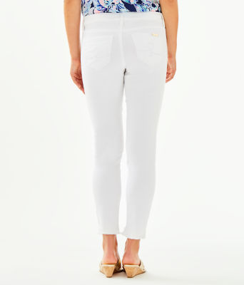 "28"" South Ocean Skinny Jean - Crop, Resort White, large 1"