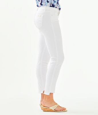 "28"" South Ocean Skinny Jean - Crop, Resort White, large 2"
