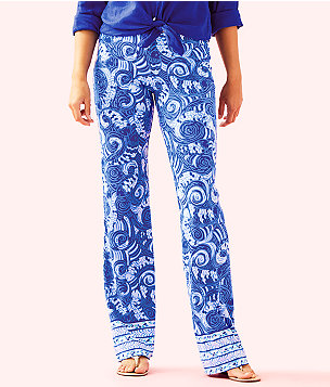 "33"" Georgia May Palazzo Pant, Blue Grotto So Offishal Engineered Pants, large"