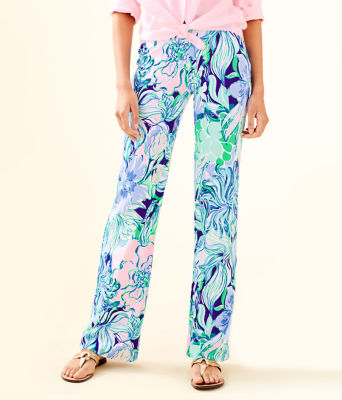 """33"""" Georgia May Palazzo Pant, Multi Party Thyme, large"""