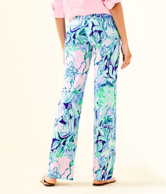 "33"" Georgia May Palazzo Pant, Multi Party Thyme, large 1"