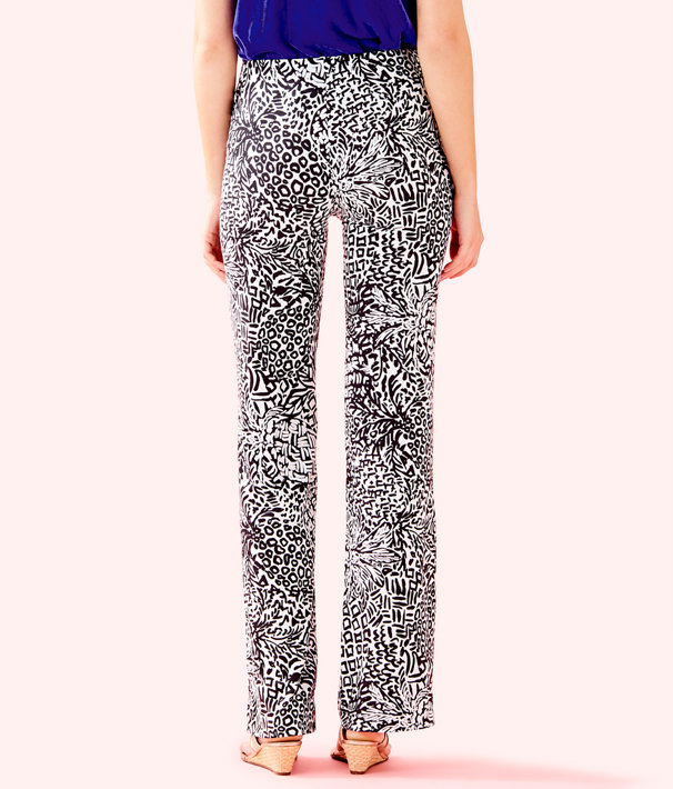 "33"" Georgia May Palazzo Pant, Onyx Home Slice, large"