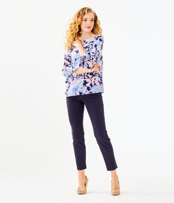 Langston Top, Bright Navy Amore Please, large 2