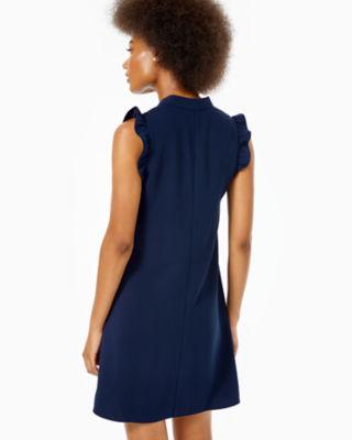 Adalee Shift Dress, True Navy, large 1