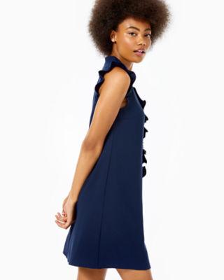 Adalee Shift Dress, True Navy, large 2