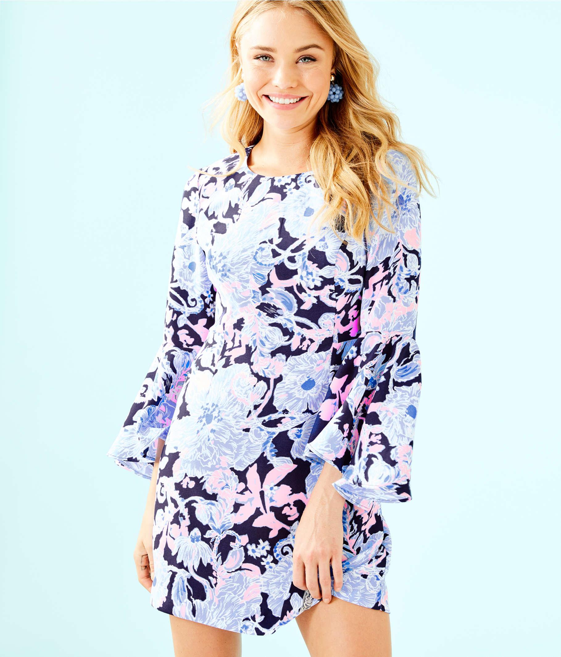 f721e63eec5b6a ... Kayla Stretch Dress, Bright Navy Amore Please, large ...