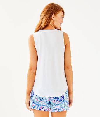 Raisa Top, Resort White, large 1