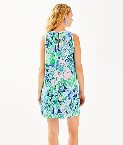 Nala Soft Shift Dress, Multi Party Thyme, large 1
