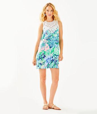 Nala Soft Shift Dress, Multi Party Thyme, large 3