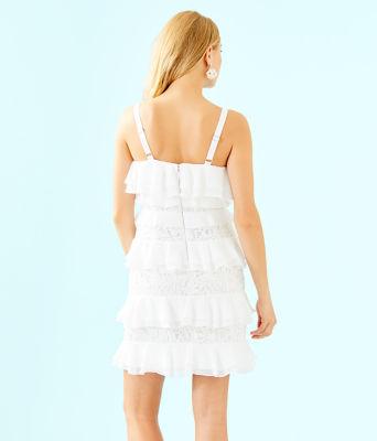 Olive Dress, Resort White, large 1