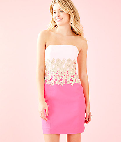 Kade Dress, Pink Tropics, large 0