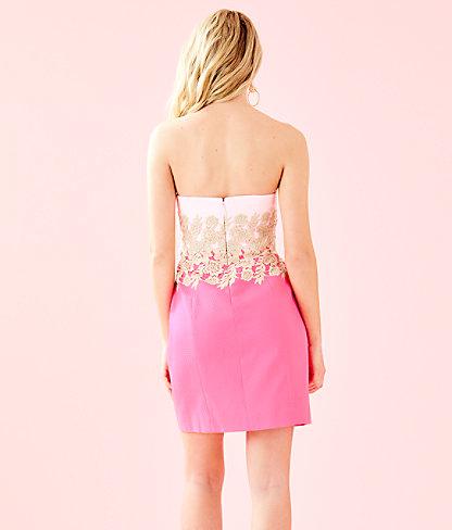 Kade Dress, Pink Tropics, large 1