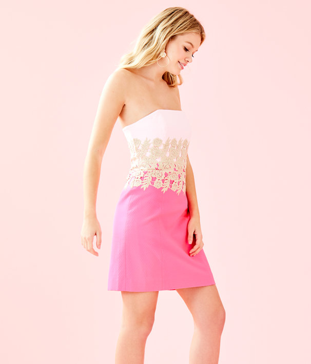 Kade Dress, Pink Tropics, large