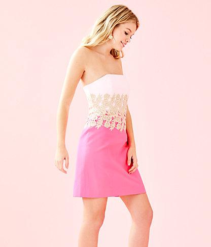Kade Dress, Pink Tropics, large 2