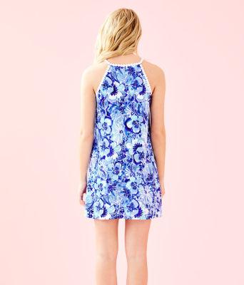 Pearl Soft Shift Dress, Coastal Blue Catch N Keep Small, large