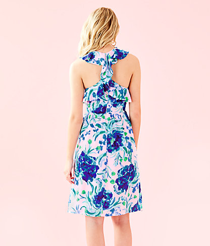 Rory Dress, Pink Tropics Tint Sweet Pea, large 1