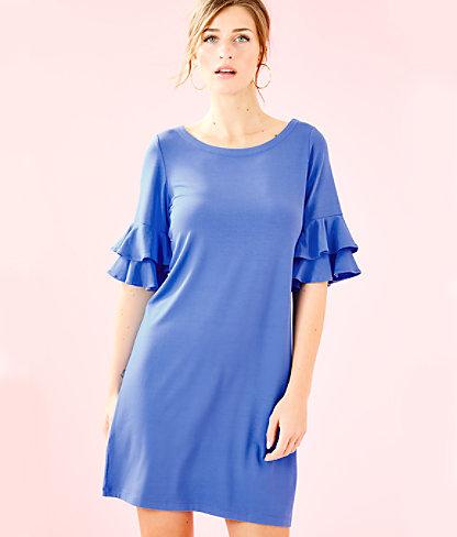 Lula Dress, Coastal Blue, large 0