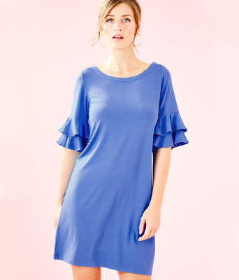 Lula Dress, Coastal Blue, large 0