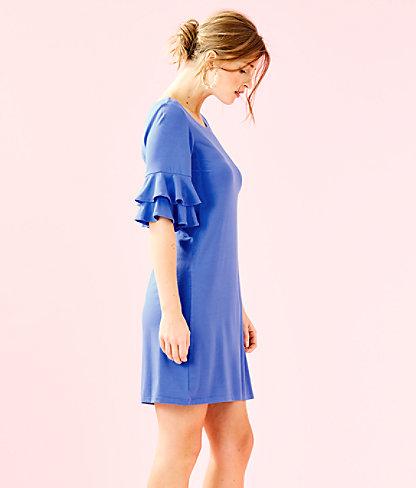 Lula Dress, Coastal Blue, large 2