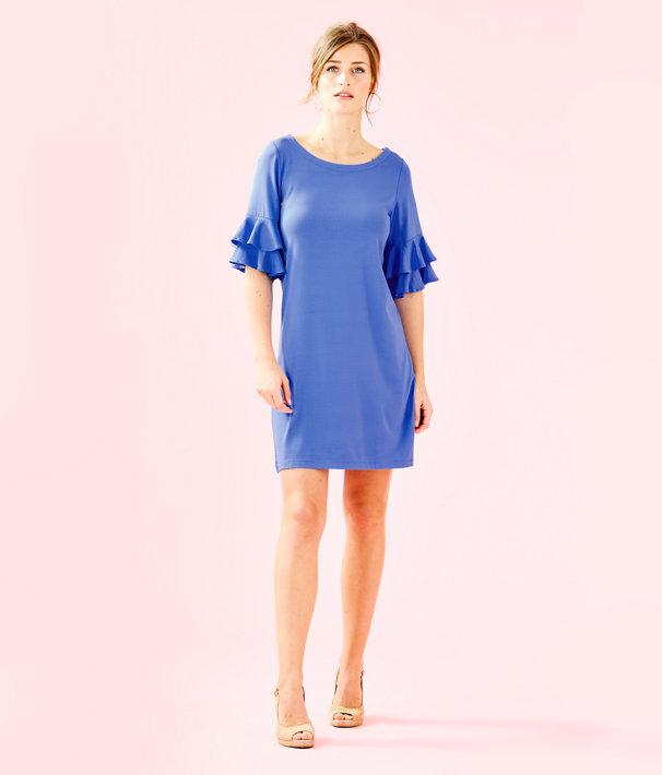 Lula Dress, Coastal Blue, large