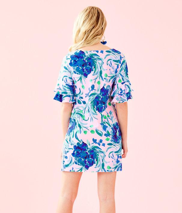 Lula Dress, Pink Tropics Tint Sweet Pea, large