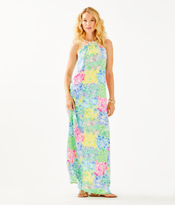 Shawn Maxi Dress, Multi Cheek To Cheek, large