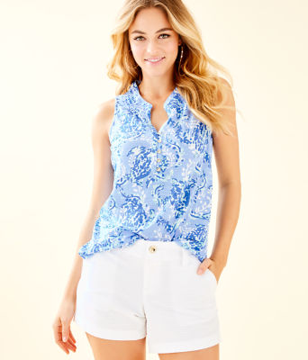 Essie Top, Blue Peri Turtley Awesome, large